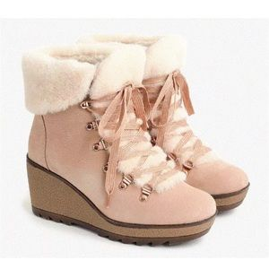J. Crew Nordic Wedge Boot NWT and box
